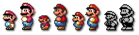 Nfg Games Nintendo Official Magazine Present A Mario Sprite